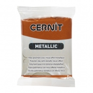 Cernit Metallic полимерная глина цвет бронза 56 гр.