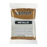 Cernit Metallic полимерная глина цвет античная бронза 56 гр.